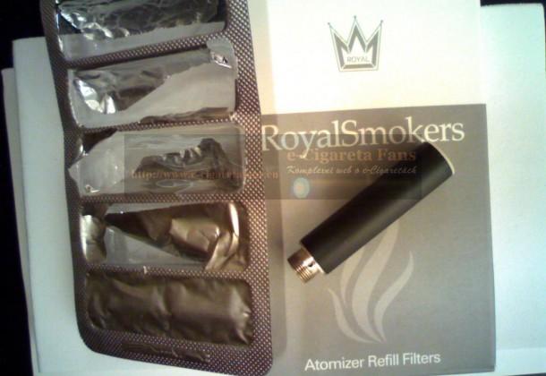 Pitva cartomizéru od RoyalSmokers